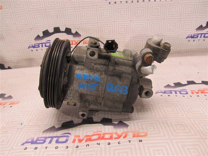 Компрессор кондиционера Nissan Ad VY11 QG13