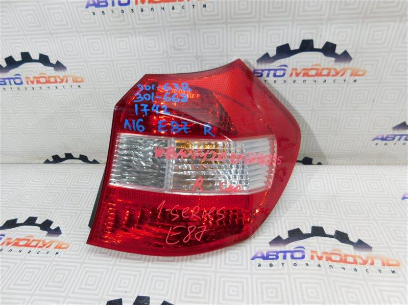 Стоп Bmw 1-Series E87 правый