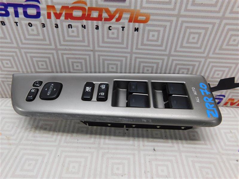 Блок упр. стеклоподьемниками Toyota Noah ZRR70 передний правый