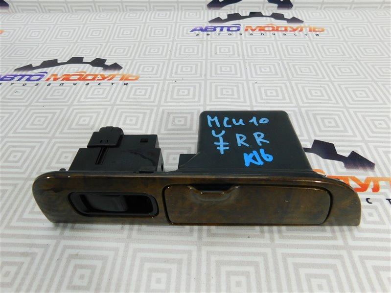 Блок упр. стеклоподьемниками Toyota Harrier MCU10 1MZ-FE задний правый