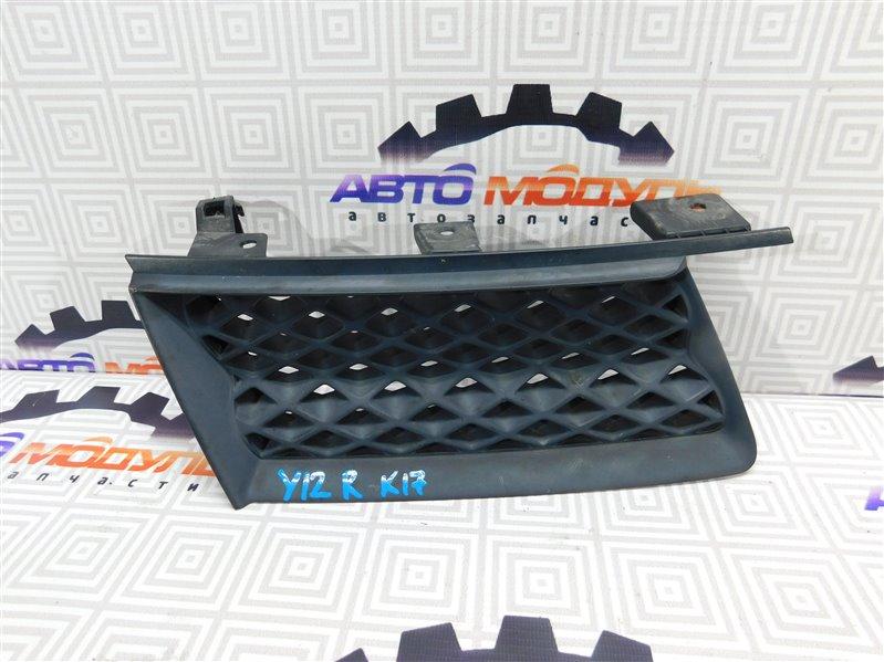 Решетка радиатора Nissan Wingroad Y12 правая