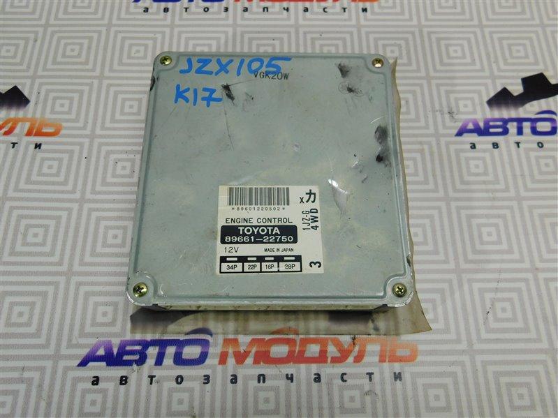 Компьютер двс Toyota Chaser JZX105 1JZ-GE