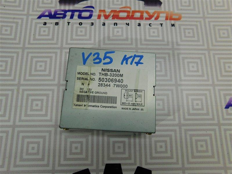 Блок управления Nissan Skyline V35 VQ25DD