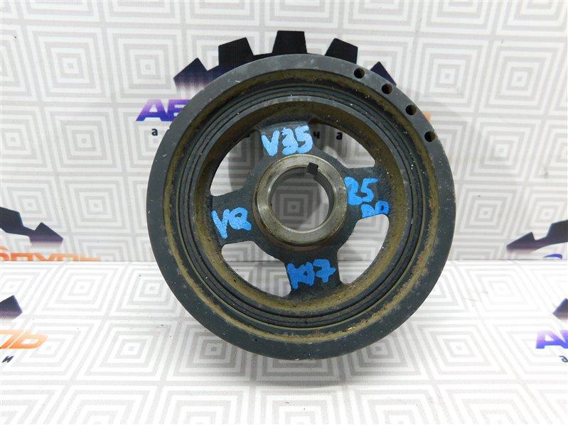 Шкив коленвала Nissan Skyline V35 VQ25
