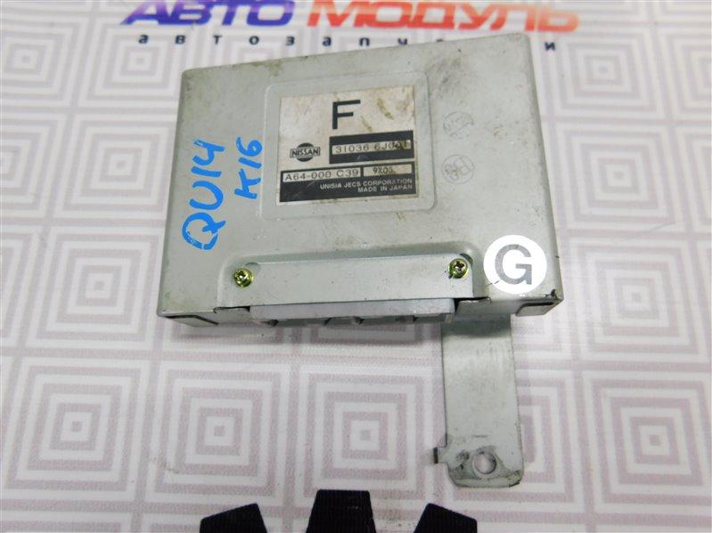 Блок управления акпп Nissan Bluebird QU14 QG18