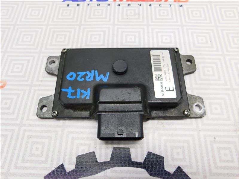 Блок управления акпп Nissan Lafesta B30 MR20-DE