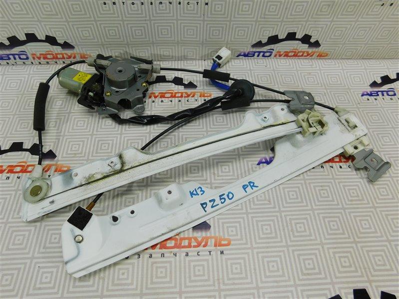 Стеклоподъемник Nissan Murano PZ50-004296 VQ35-DE 2005 передний правый