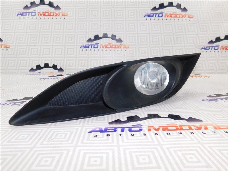 Туманка Toyota Auris NZE151 левая