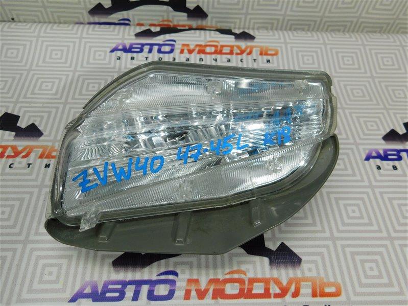 Повторитель бамперный Toyota Prius Alpha ZVW40 левый