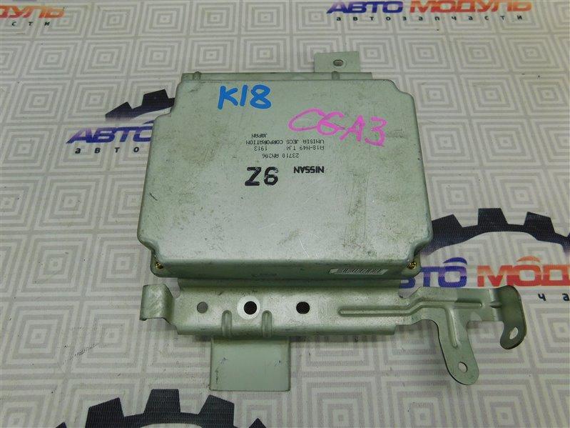 Компьютер двс Nissan Cube ANZ10 CGA3