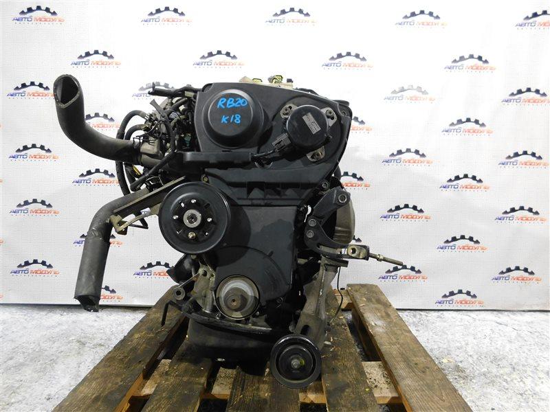 Двигатель Nissan Stagea WHC34 RB20-DE