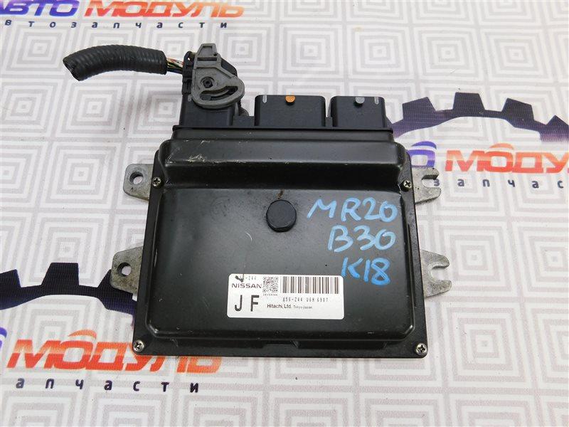 Компьютер двс Nissan Lafesta B30 MR20-DE