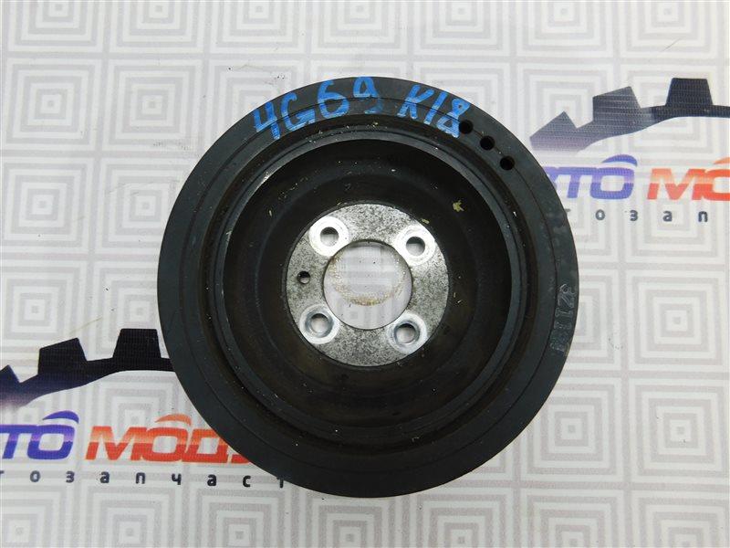 Шкив коленвала Mitsubishi Grandis NA4W 4G69