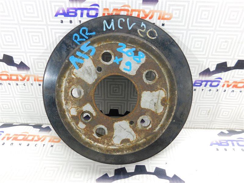 Диск тормозной Toyota Windom SXV20 задний