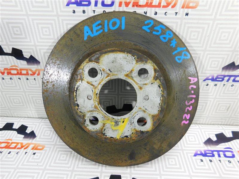 Диск тормозной Toyota Sprinter Trueno AE101 передний