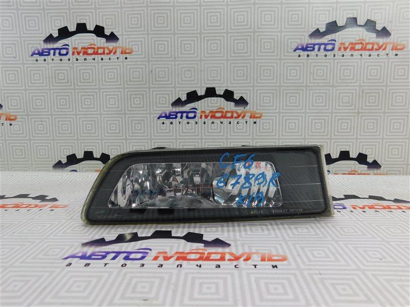 Туманка Honda Accord CF3 правая