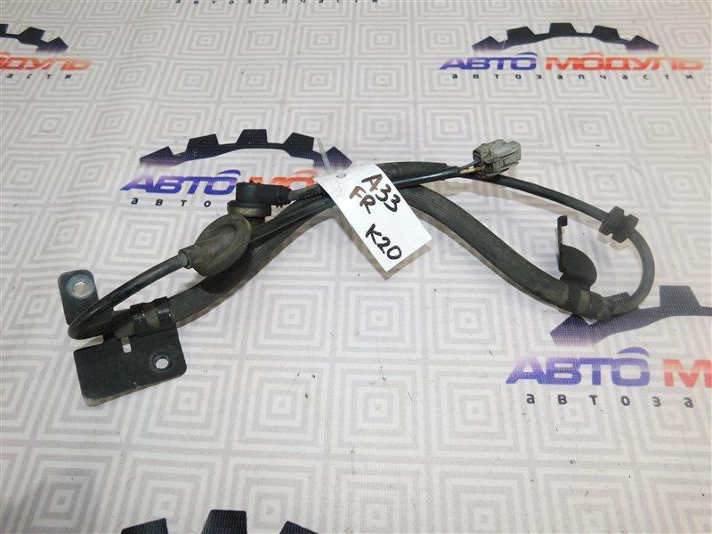 Датчик abs Nissan Cefiro A33-003703 VQ20-DE 1999 передний правый