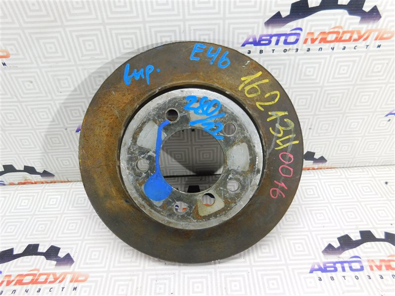 Диск тормозной Bmw 3 Series E46 передний