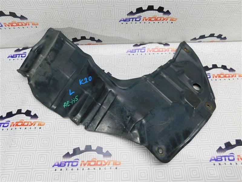 Защита двигателя Toyota Sprinter Carib AE115-0023565 7A-FE 1996 левая