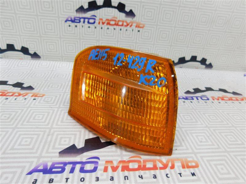 Габарит Toyota Sprinter Carib AE115-0023565 7A-FE 1996 правый