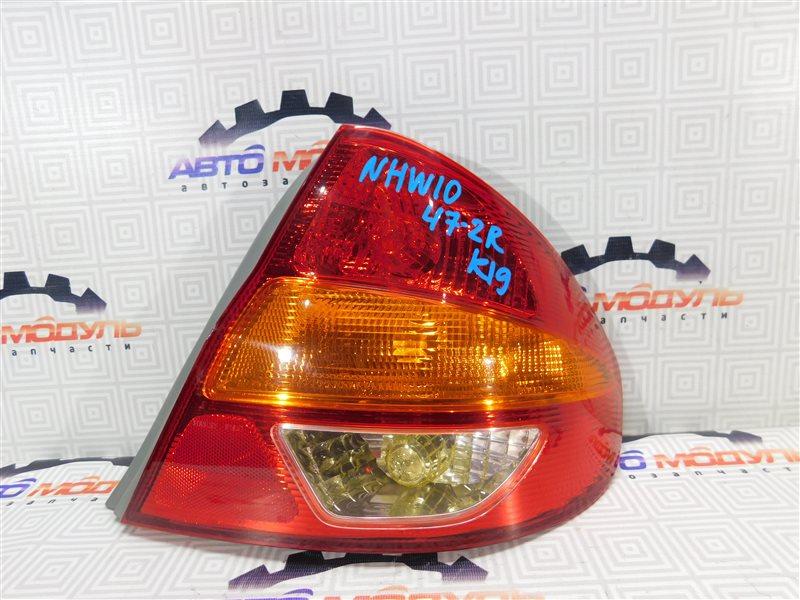 Стоп Toyota Prius NHW10 правый