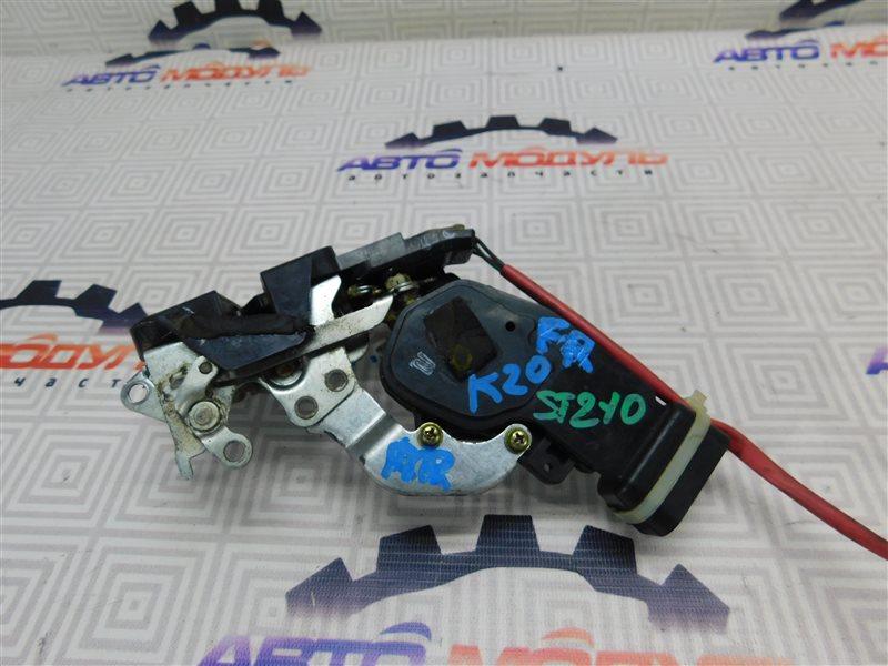 Замок двери Toyota Corona Premio ST210-0054190 3S-FSE 2000 передний правый