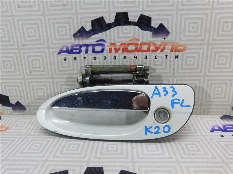 Ручка двери Nissan Cefiro A33-003703 VQ20-DE 1999 передняя левая