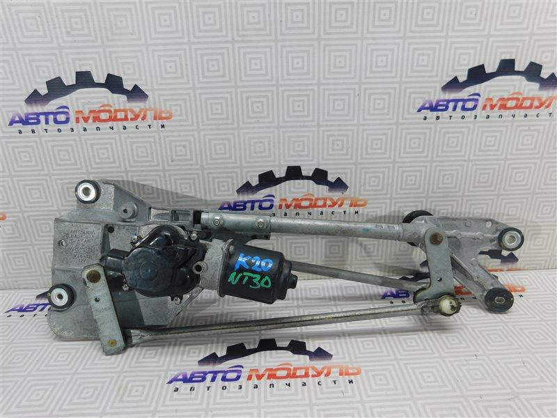 Мотор дворников Nissan X-Trail NT30-159001 QR20-DE 2005 передний