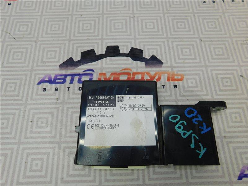 Блок управления Toyota Vitz KSP90-5179979 1KR 2010