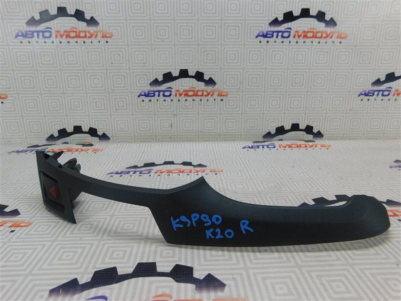 Консоль Toyota Vitz KSP90-5179979 1KR 2010 правый