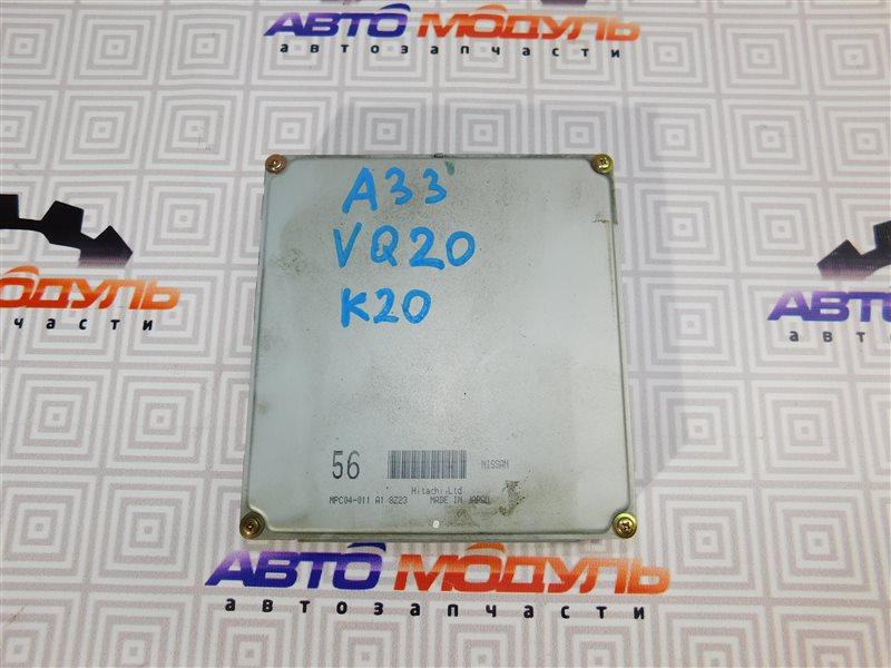 Компьютер двс Nissan Cefiro A33-003703 VQ20-DE 1999