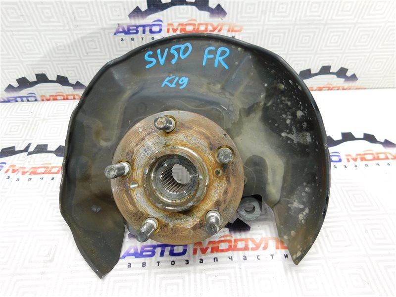 Ступица Toyota Vista AZV50 передняя правая