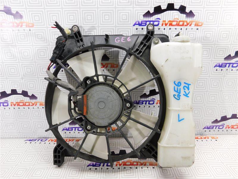 Диффузор радиатора Honda Fit GE6 L13A левый