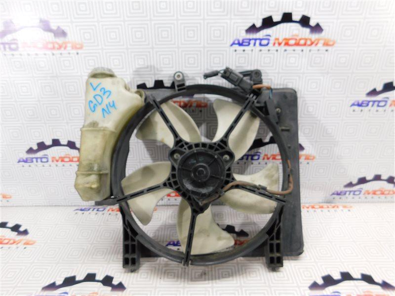 Диффузор радиатора Honda Fit GD1 L13A левый