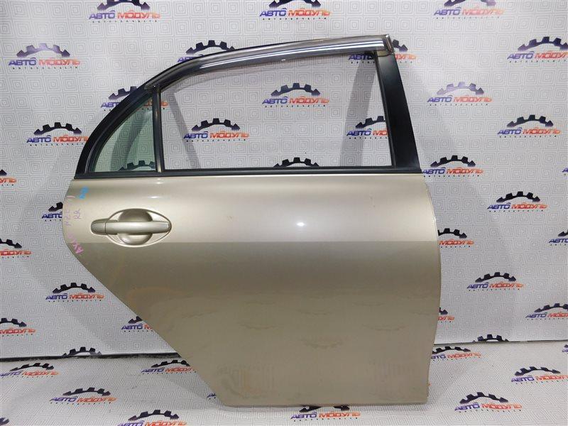 Дверь Toyota Corolla Axio NZE141-6033926 1NZ-FE 2007 задняя правая