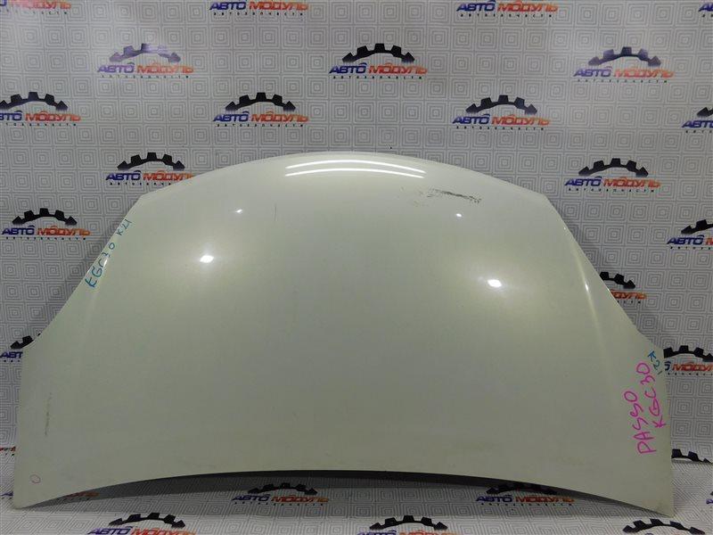 Капот Toyota Passo KGC30