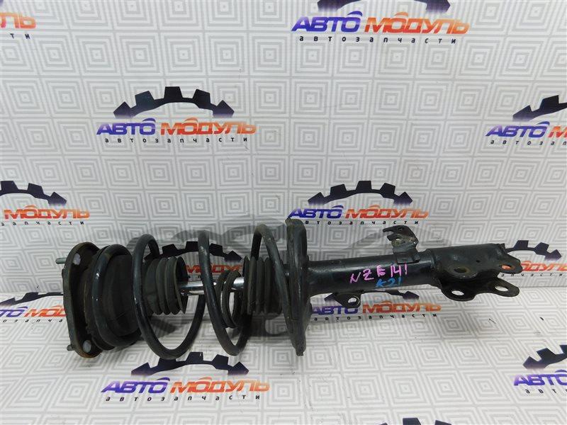 Стойка Toyota Corolla Axio NZE141-6033926 1NZ-FE 2007 передняя правая