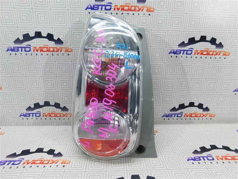 Стоп Toyota Passo KGC30 левый