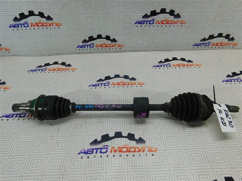 Привод Toyota Passo KGC30 1KR-FE передний левый