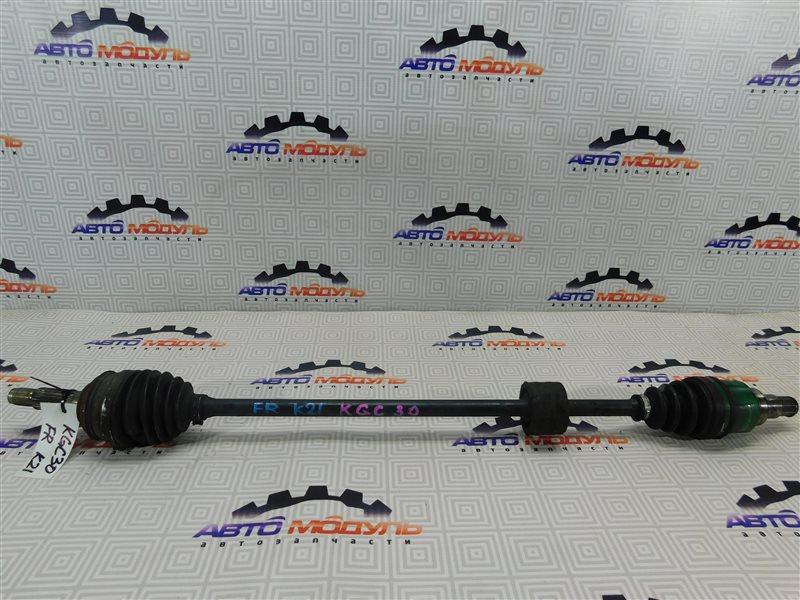 Привод Toyota Passo KGC30 1KR-FE передний правый