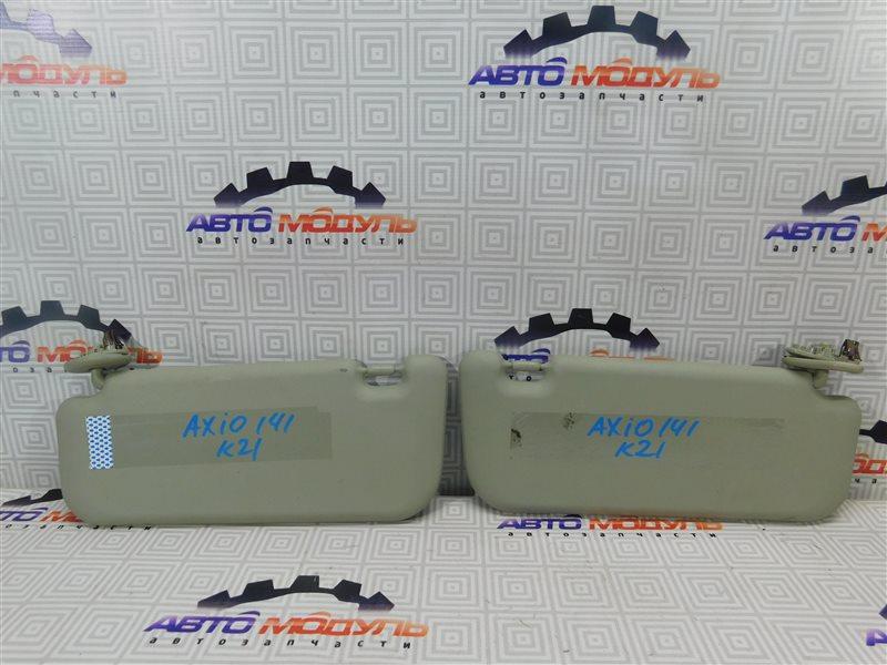 Козырек солнцезащитный Toyota Corolla Axio NZE141-6033926 1NZ-FE 2007