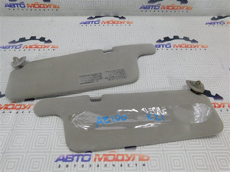 Козырек солнцезащитный Toyota Sprinter AE100-5010711 5A-FE 1991