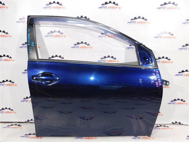 Стеклоподъемник Toyota Corolla Fielder NZE141-9027821 1NZ-FE 2007 передний правый