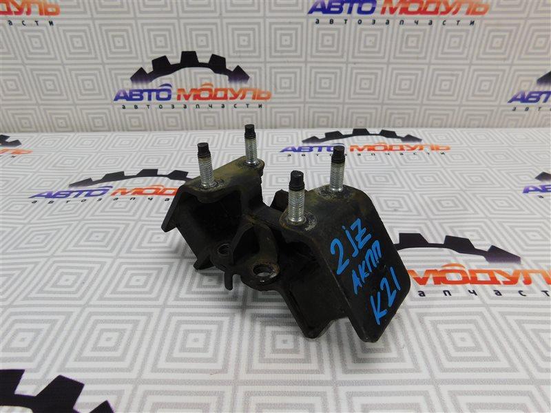 Подушка двигателя Toyota Crown Majesta JZS151 1JZ задняя нижняя