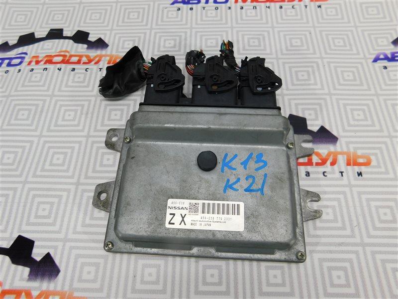 Компьютер двс Nissan March K13 HR12