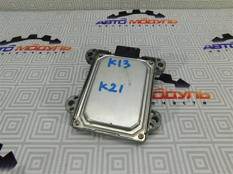 Блок управления акпп Nissan March K13 HR12
