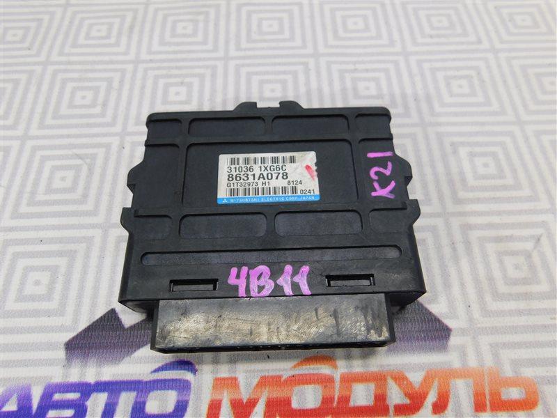 Блок управления акпп Mitsubishi Lancer X CY4A-0109367 4B11 2008