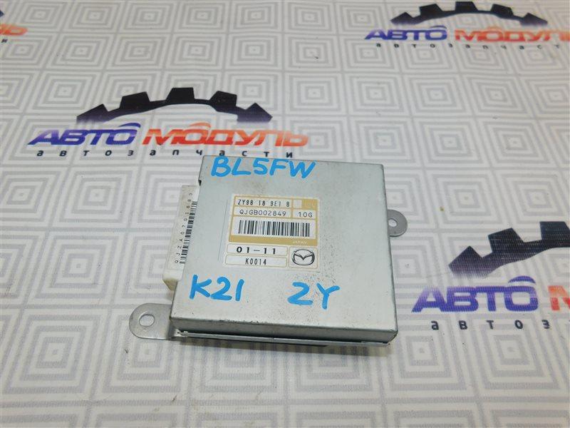 Блок управления акпп Mazda Axela BL5FP ZY-VE