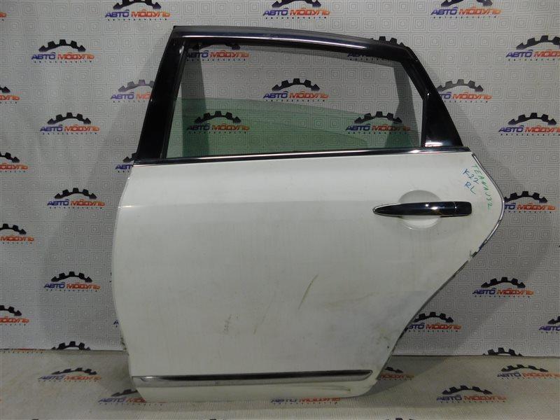 Дверь Nissan Teana J32-013317 VQ25-DE задняя левая