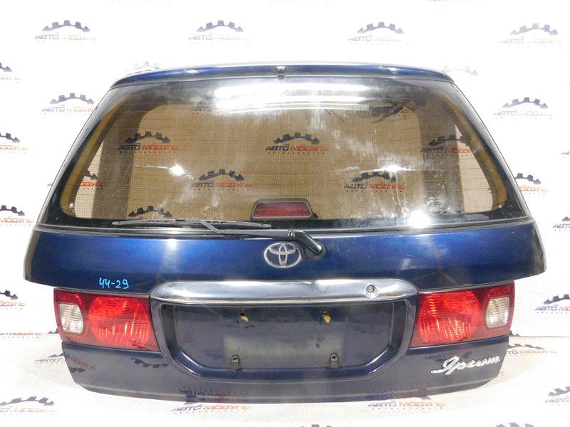 Дверь 5-я Toyota Ipsum SXM10-7086781 3S-FE 1998 задняя